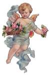 cherub+vintage+Image+GraphicsFairyblue