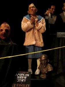 Museum display from American Horror Story -Tinsley Studios. Friend Robin works there :)